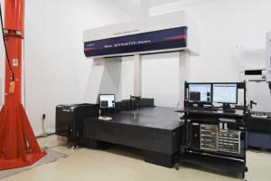 寸法測定 寸法計測 金属部品 大型CMM プログラム計測